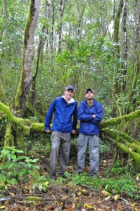 Choosing field sites with Gonzalo
